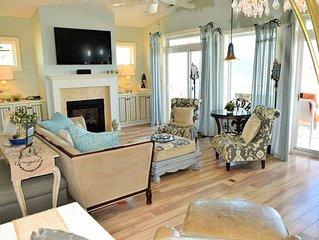 Luxury Single Family Home, Ocean Views, Spacious Porches, New Pool, Quiet Street