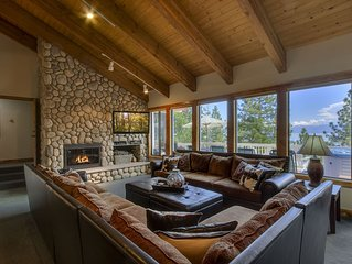 Beautiful Large Home with Views from Meeks Bay to South Shore