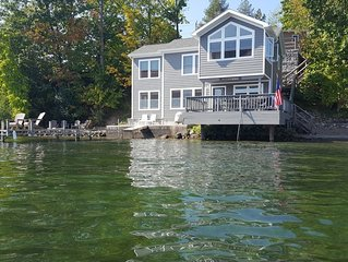 Waters Edge - Lake Views From All Rooms - Deck Over Lake, Shale Beach, Boat Dock