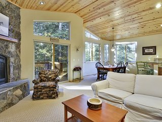 Upscale Vacation Home Near Lake Tahoe Beaches and Northstar!
