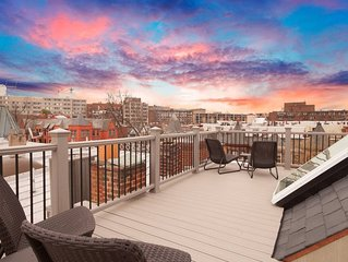 A DC retreat in Dupont, w/rooftop deck & view   walk to metro
