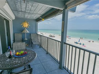 Enjoy Breathtaking Views and August Availability at this Gulf Front Condo!