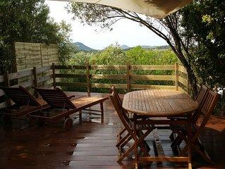 Appartement calme en pleine nature ideal pour profiter du Sud de la Corse