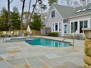 Weeks in August just opened! Gorgeous  home on lagoon pond w/ a pool  sleeps 8+
