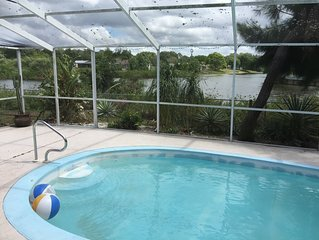 Tropical Sanctuary Poolhome, island included! Pet friendly.