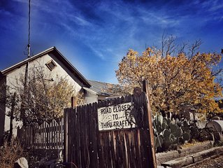 Historic Adobe Home Hidden in New Mexico Ghost Town