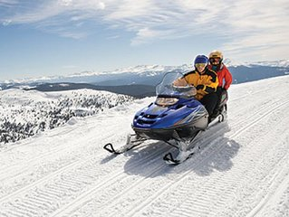 Visit the Snow-capped Sierra Mountains!