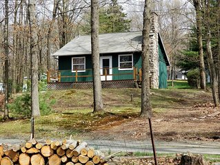 Rustic Cottage Getaway by Lake Wallenpaupack -  2 bedroms and Large Loft