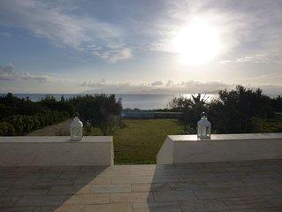 Sea Front Villa Abelas Beach