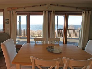Waterfront, beautiful home, breathless sunsets on Prudence Island