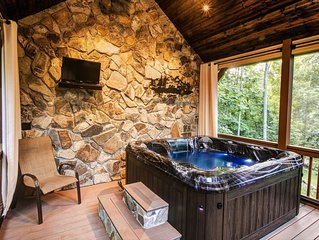 Secluded, relaxing retreat in the mountains near Hot Springs