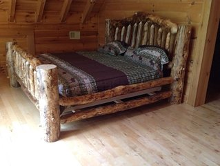 East Tennessee Large Mountain Log Cabin