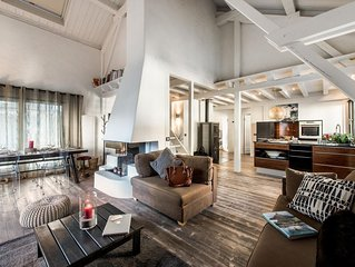 Spacious contemporary 4* duplex located in the heart of the village