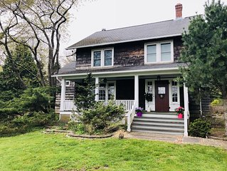 Charming North Fork Farmhouse in Southold minutes from beaches and vineyards