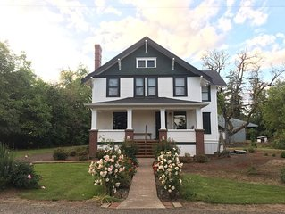 Boyer Farm House located in the heart of wine country.