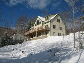 Ski In Ski Out house - Directly on the Out To Lunch Trail!