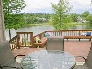 Lake Front Property With Swimming Pool In Quiet Neighborhood
