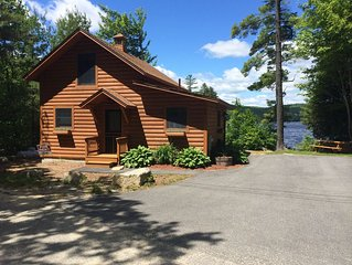 Sandy Waterfront Cabin on Howard Pond.  Great Foliage Vacation.