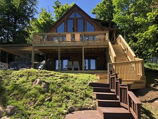 Beautiful, Modern Waterfront ADK Home - Great Location