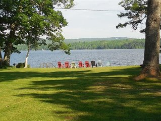Year Round Fully furnished 3 bedroom Lake side cottage, beautiful sunrises.
