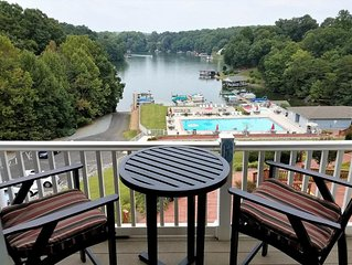 Beautiful Penthouse Condo With Amazing Smith Mountain Lake View