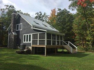 Modern Catskills Mountain Retreat Filled With Natural Light