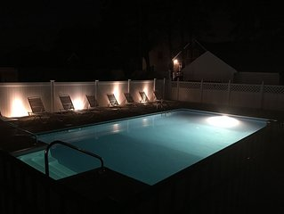 Classic Jersey shore colonial with pool ,immaculate and 1 block to center of