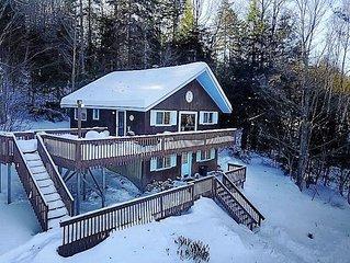 Rustic Vermont ski chalet