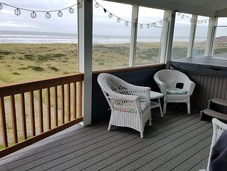Great Ocean Front House,Beach,View,Hot Tub- NO PETS INSIDE--