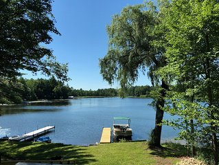 Lakefront Country Cabin - Book Your Winter/Snowmobile Get Away Now!!!