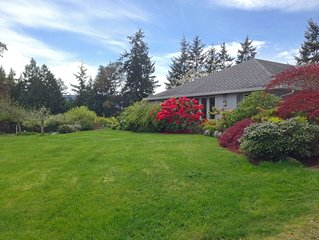Fully Supplied Rental Home - South Vancouver Island