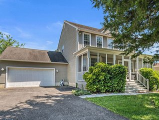 Spacious Family friendly West Cape May Beach Home