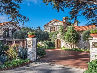 Seastone 'Casa Del Mar Azul' - Historic Carmel Home 1 Block from the Beach