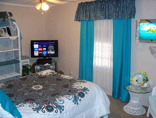 QUEEN BED, PRIVATE BATH, + EASY TO DEATH VALLEY,  LAS VEGAS  STUNNING VIEWS!