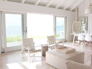 Dream summer vacation: chic, secluded beachfront house, a few weeks remaining.
