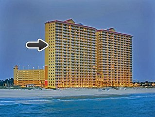 Ocean Front 3 Bedroom Condo Near Pier Park from $115 per night