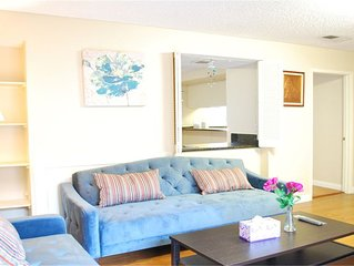 Comfy quiet 3BR near DTLA, walk to Costco.