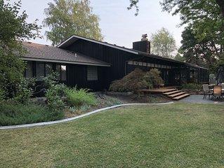 Stunning resort-like Mid Century family home