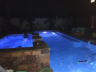 Donwtown Orlando Thornton Park Historic District Heated Salt Pool Jacuzzi