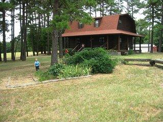 Wilson Ranch Log Cabin getaway retreat