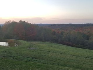 Chalet close to Ellicottville, NY with breathtaking views.