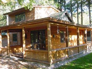 Waterway Cottage; Michigans Inland Waterway/River/Mullett/Burt Lake/Straits Mack