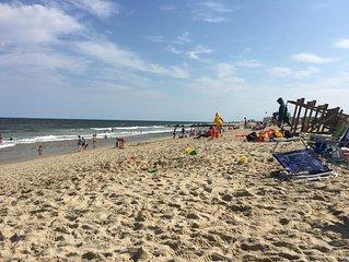 Jersey Shore Beach Escape( Walking  Distance)