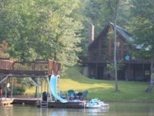Beautiful lakefront home on Lake Nottely tucked away in the Blue Ridge Mountains