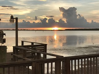 WATERFRONT Home - Beautiful Open Water Views.  See the Sunset Every Night