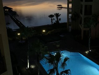 Beautiful Condo Sunset Lakeview/1hr from Disney