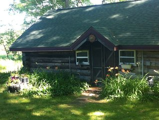 Historic One Room Log Cabin