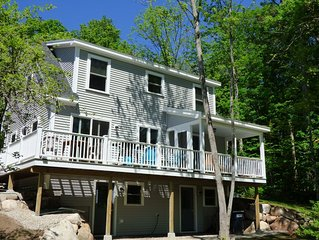 Beautiful New Cottage on Newfound Lake Reduced Rates