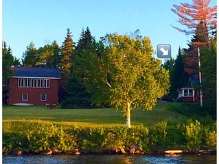 Prime waterfront spot on Moosehead Lake