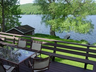 Lakefront Home Adirondacks on Chateaugay Lake